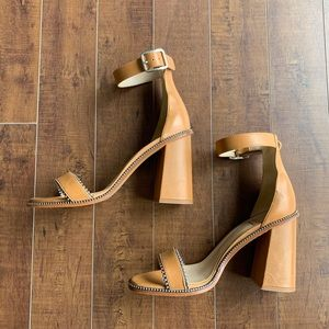 Real Leather VERO CUOIO Heels